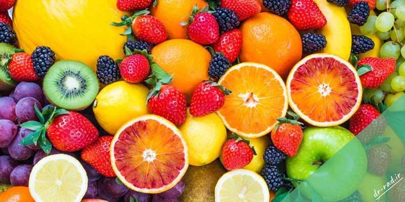 میوه های مفید برای ترک اعتیاد به مواد